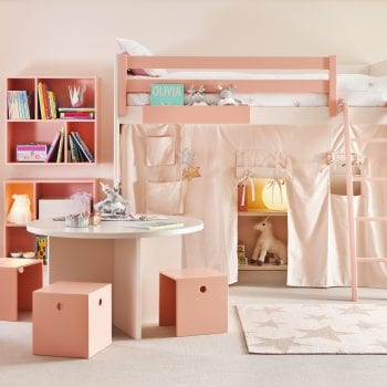 Kinderbetten rosa