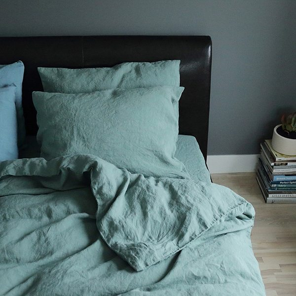 linenme stone washed leinen deckenbezug 12 farben daunenspiel. Black Bedroom Furniture Sets. Home Design Ideas