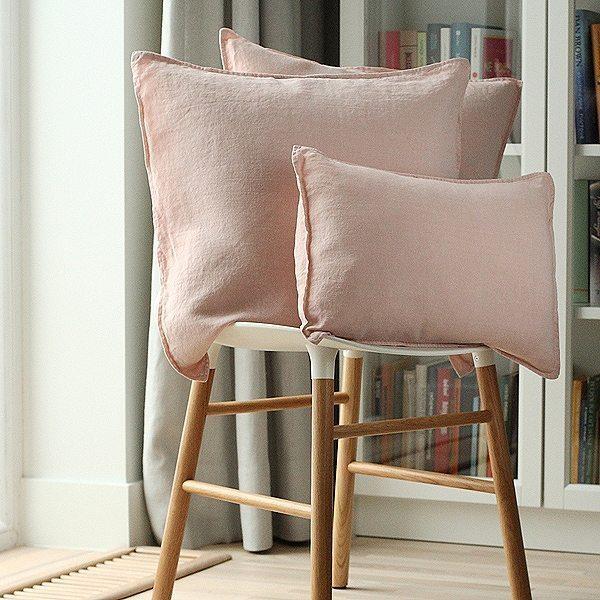 linenme stone washed leinen deko kissenbezug daunenspiel. Black Bedroom Furniture Sets. Home Design Ideas