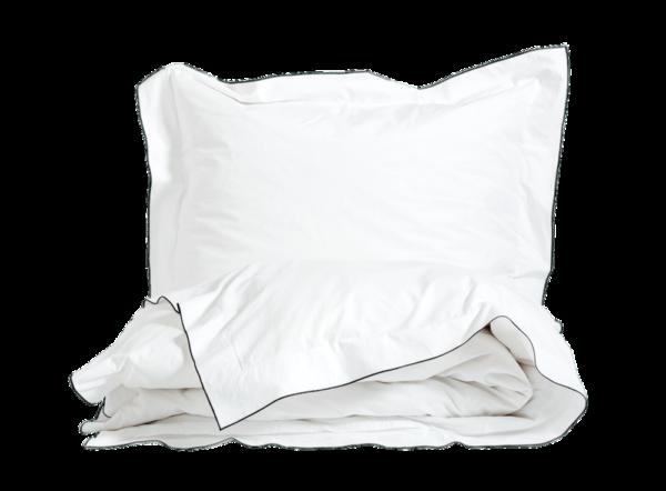 Decoflux Babylock Weißschwarz Bettwäsche Aus Washed Percale