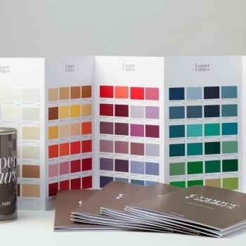 Wandfarben von Cooper Colours