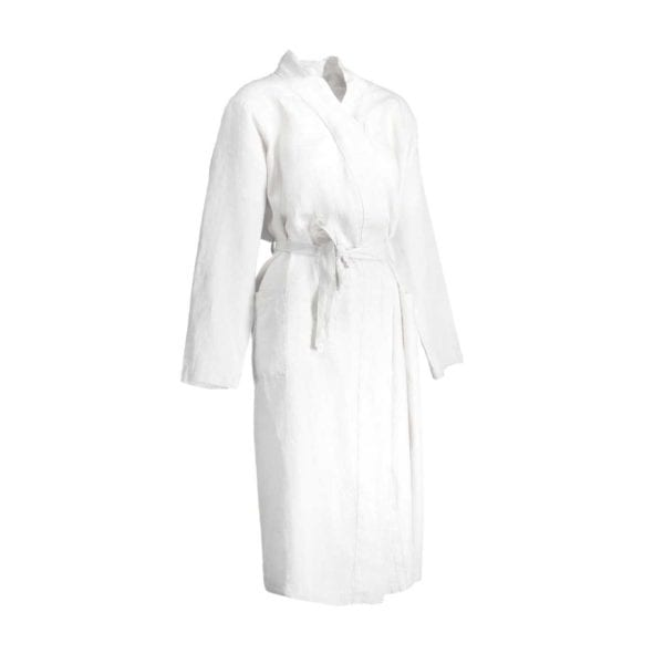 Balmuir Bellagio Linen Bathrobe