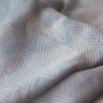 Gretel Bettwäsche aus Halbleinen hellblau