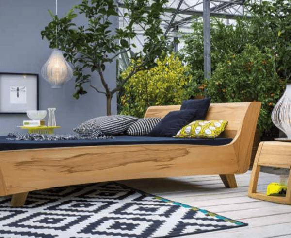Dormiente Holzbetten