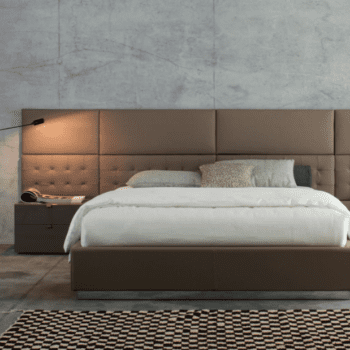 Twils Betten mit Wandpaneele