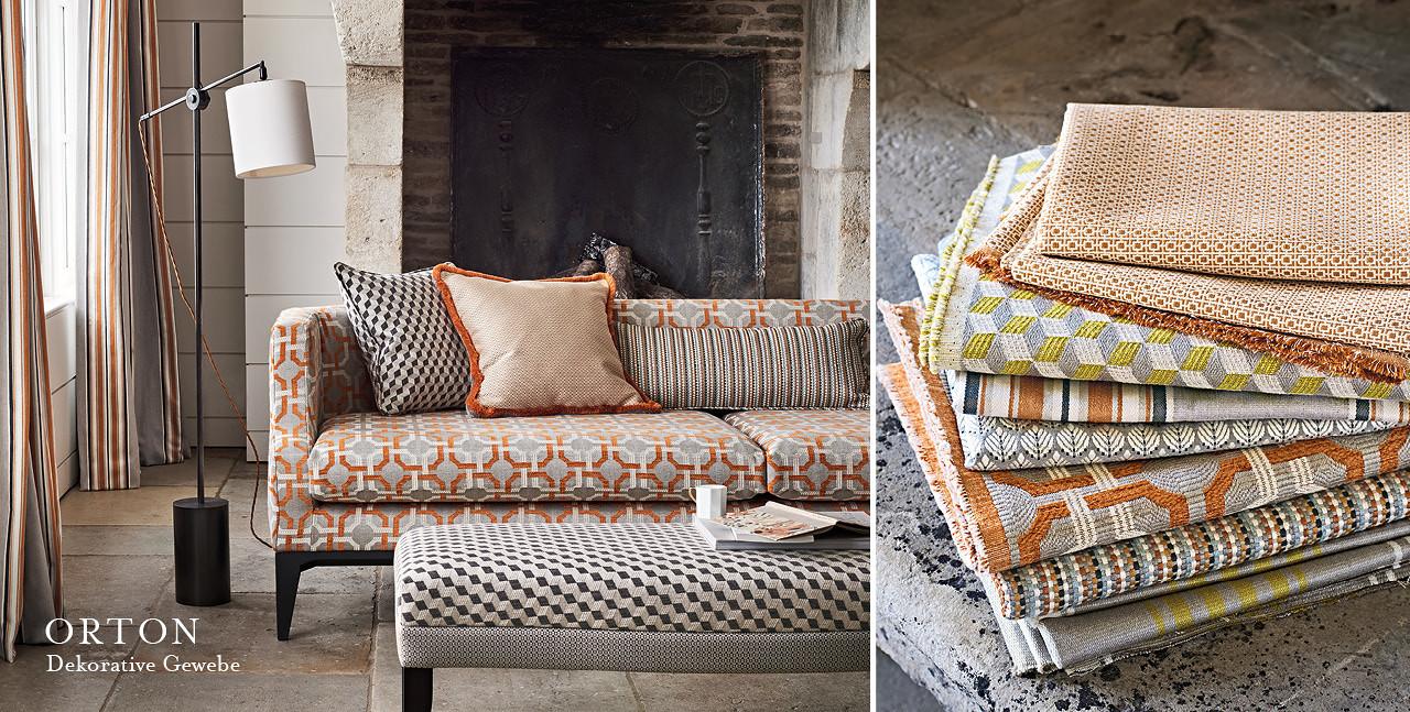 romo stoffe f r polsterm bel daunenspiel. Black Bedroom Furniture Sets. Home Design Ideas