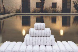 exklusive Handtücher aus Biobaumwolle von Graccioza