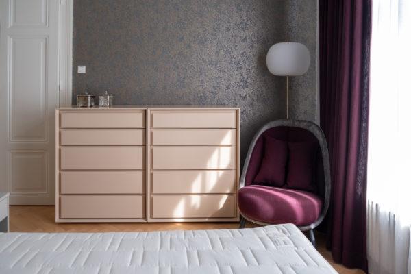 Interior Design Schlafzimmer 1130 Wien Daunenspiel